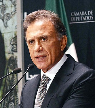 Miguel Ángel Yunes - Yunes Linares in his third term as a federal deputy