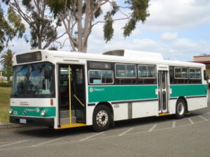 Mercedes-Benz O305 - Transperth JW Bolton bodied O305 in Perth in September 2006
