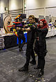 MCM London 2014 - Hawkeye & Black Widow (14267748332).jpg
