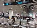 MC 澳門 Macau 外港客運碼頭 Outer Harbour Ferry Terminal January 2019 SSG 03 metal seats bench waiting zone.jpg