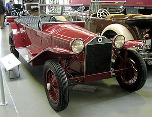 Lancia Lambda - Lancia Lambda Torpedo 1923