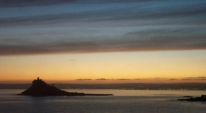 St. Micheal's Mount sunset