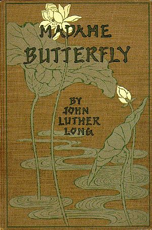 Madame Butterfly (short story) - Image: Madame Butterfly 1903 cover