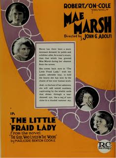 <i>The Little Fraid Lady</i> 1920 film by John G. Adolfi