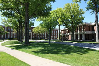 West Liberty University - Main Hall and Paul N Elbin Library at WLU