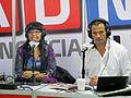 Malucha Pinto e Iván Núñez FILSA 2014 01.JPG