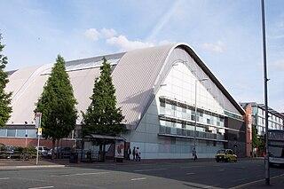 Manchester Aquatics Centre Public aquatic sports facility in Manchester, England