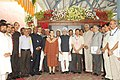 Manmohan Singh dedicated the newly constructed railway line between Banihal (Jammu region)-Qazigund (Kashmir valley) section to the Nation, in Jammu and Kashmir. The Chairperson, National Advisory Council (1).jpg
