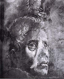 MANTEGNA Andrea Self-portrait 1448-1457