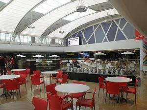Mantri Square - Image: Mantri Square food court seating