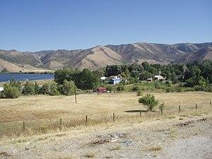 Mantua, Utah - Mantua as seen from U.S. Route 91