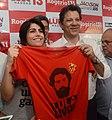 Manuela d'Ávila e Fernando Haddad por Lula candidato 2018 (1) (cropped).jpg