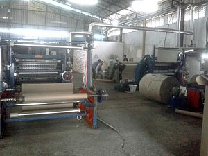 Manufacturing of Corrugated Paper