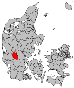 kart over billund Billund kommune – Wikipedia kart over billund