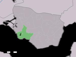 Borssele - Image: Map NL Borsele Borssele