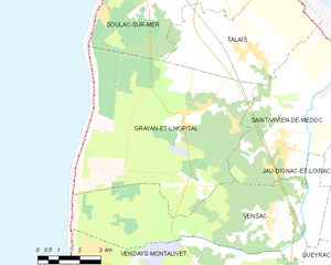 Map commune FR insee code 33193.png