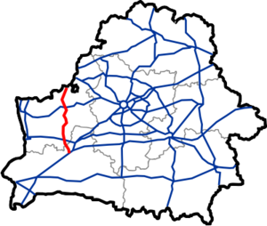 Map of Automobile Roads in Belarus M11.png