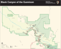 Map of Black Canyon of the Gunnison National Park.png