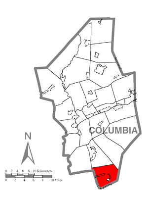 Conyngham Township, Columbia County, Pennsylvania