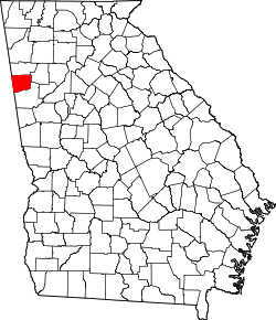 Map of Georgia highlighting Haralson County.svg