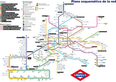 Metro de Madrid - Wikipedia, la enciclopedia libre