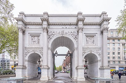 How to get to Marble Arch with public transport- About the place
