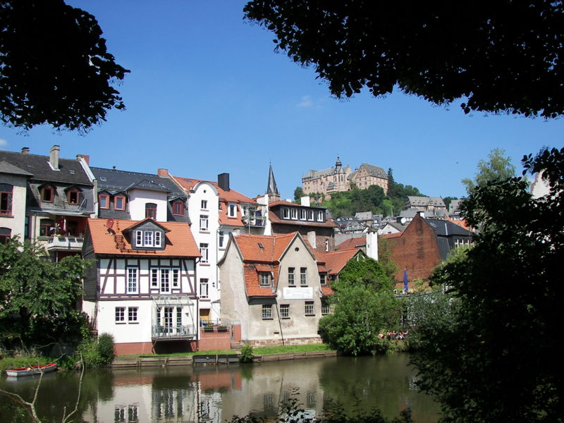 Lahn in Marburg