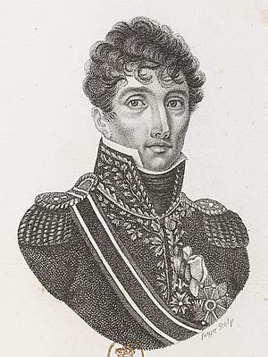 Marc Antoine de Beaumont - General of Division Marc Antoine de Beaumont