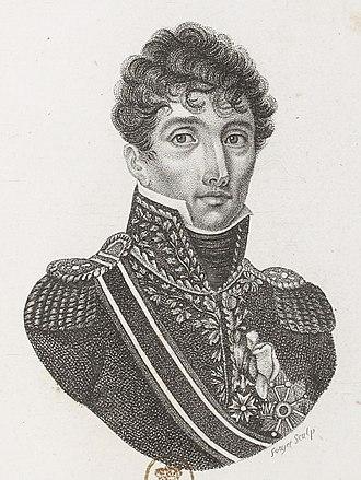 Marc Antoine de Beaumont - General of Division Marc Antoine de Beaumont