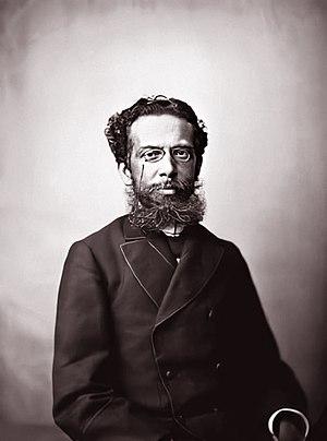 Machado de Assis - Machado de Assis around age 41, by Marc Ferrez, c. 1880.
