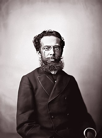 Machado de Assis - Machado de Assis around age 41, by Marc Ferrez, c. 1880.