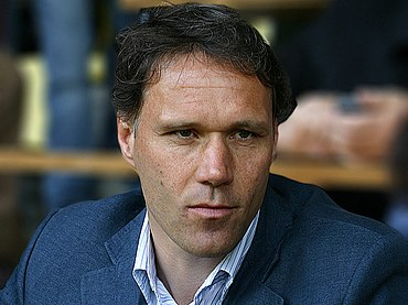 Marco van Basten scored in two consecutive finals for Ajax. Vanbasten.jpg