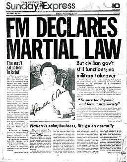 Marcos Declares Martial Law