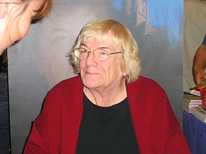 Margit Sandemo - Margit Sandemo in the Göteborg book festival, October 2005.