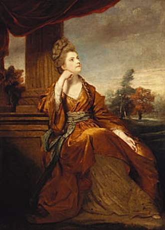 Maria, Duchess of Gloucester and Edinburgh - Portrait by Joshua Reynolds (1771-1774)