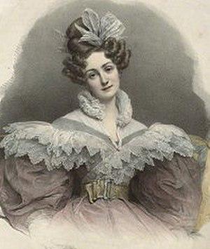 I Capuleti e i Montecchi - Soprano Rosalbina Caradori-Allan, sang Giulietta