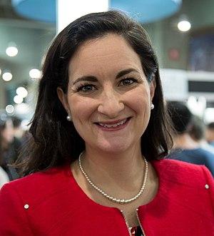 Marie Montpetit - Marie Montpetit at the Salon du livre de Montréal (2017)