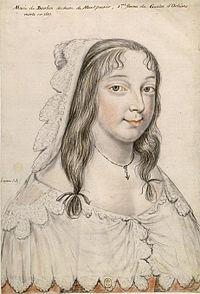 Marie de Bourbon, duchesse de Montpensier, duchesse d'Orléans.jpg