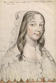 Marie de Bourbon, Duchess of Montpensier Duchess of Orléans