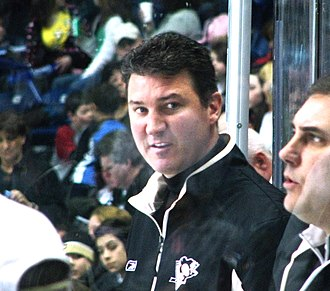 Quebec International Pee-Wee Hockey Tournament - Mario Lemieux as the honorary coach of the Pittsburgh team at the 2009 tournament