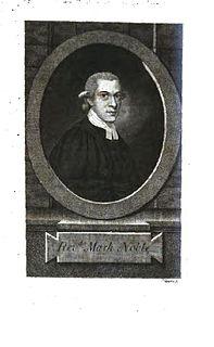 Mark Noble (biographer) British biographer