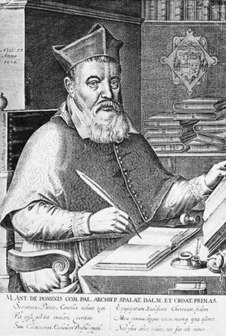 A Game at Chess - Markantun de Dominis, model for the Fat Bishop