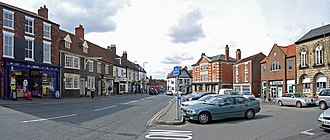 Barton-upon-Humber - Image: Marketplace Barton Upon Humber