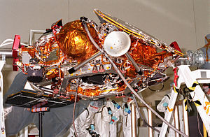 Mars Polar Lander - Image: Mars Polar Lander close up
