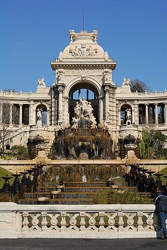 Henri-Jacques Espérandieu - Palais Longchamp in Marseille