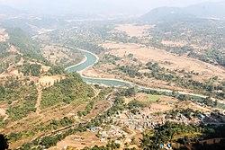 Marsyangdi rzeki, Nepal WLV-2068.jpg