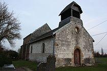 Marvaux-Vieux - l'Église Saint-Étienne àVieux - Photo Francis Neuvens lesardennesvuesdusol.fotoloft.fr.JPG
