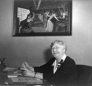 Mary Anderson (labor leader) - Image: Mary Anderson, head of Women's Bureau 3b 44911