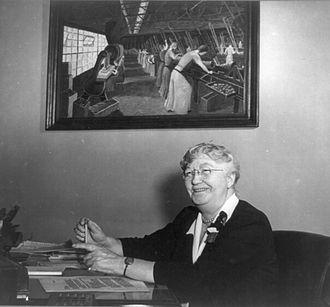 Mary Anderson (labor leader) - Image: Mary Anderson, head of Women's Bureau 3b 44911