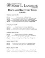 Mary Landrieu Hope and Recovery Tour Schedule.pdf